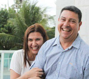 Jonas Oliveira e Flávia Molena