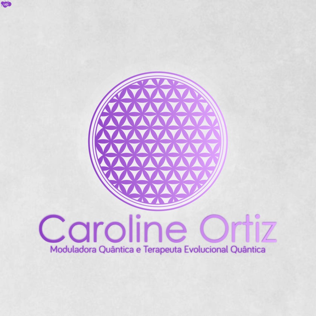 Perfil Logo Flor da Vida – Caroline Ortiz Terapeuta